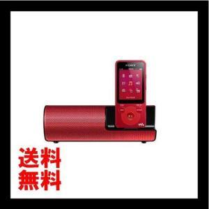 SONY ウォークマン Eシリーズ 4GB スピーカー付 レッド NW-E083K/R
