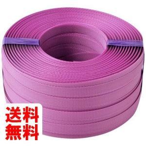 新潟エースロープ PPバンド 小玉200m 15.5 紫