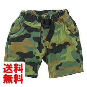 OFFICIAL TEAM(オフィシャル チーム) 40/10ミニ裏毛迷彩柄5分丈パンツ 90cm/KHAKI NO.OT-15SS-504