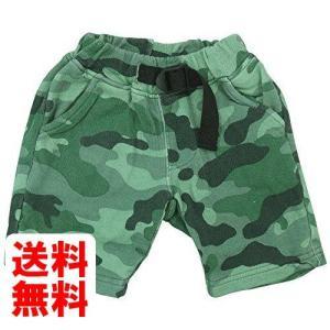OFFICIAL TEAM(オフィシャル チーム) 40/10ミニ裏毛迷彩柄5分丈パンツ 80cm/GREEN NO.OT-15SS-504