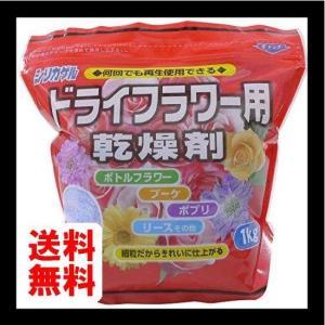豊田化工 シリカゲル ドライフラワー用 乾燥剤 1kgの商品画像