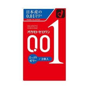 オカモト 001 ゼロワン たっぷりゼリー 3コ入 目安在庫=△ compmoto-y