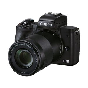Canon キャノン EOSKISSM2BK-WZK EOS Kiss M2(ブラック)・ダブルズームキット 目安在庫=△ compmoto-y