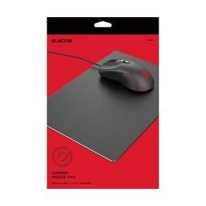 エレコム MP-GALBK ゲーミングマウスパッド(アルミタイプ) ブラックの商品画像|ナビ