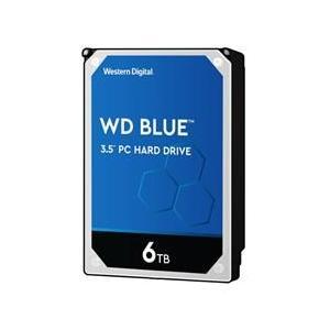 WESTERN DIGITAL WD Blue SATA 6Gb/s 256MB 6TB 5400rpm class 3.5inch AF対応 目安在庫=○
