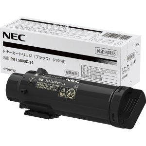 NEC トナーカートリッジ(ブラック) PR-L5800C-14 目安在庫=△