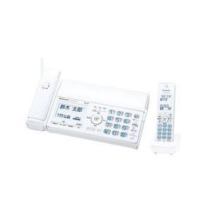 パナソニック パーソナルファックス(子機1台付き)ホワイト KX-PD515DL-W 目安在庫=○