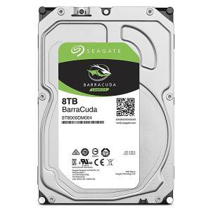 Seagate Guardian BarraCudaシリーズ 3.5インチ内蔵HDD 8TB SAT...