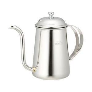 【本格派のあなたに注ぎ口が細いコーヒーポット。ドリップコーヒーをお楽しみ頂けます。ステンレス製ポット...