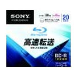 ソニー データ用BD-R 追記型 片面1層25GB 6倍速 プリンタブル 白 20枚パック 目安在庫=△
