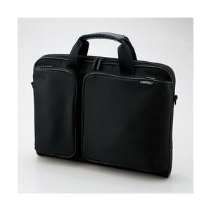 エレコム キャリングバッグ ZEROSHOCK スリムタイプ/ブラック ZSB-BM005NBK メーカー在庫品|compmoto-y