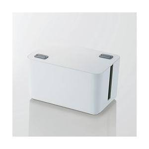 エレコム ケーブルボックス(4個口) EKC-BOX002WH メーカー在庫品|compmoto-y