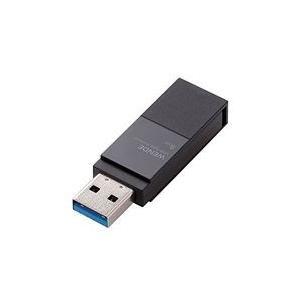 エレコム  USBメモリ 8GB USB3.0 回転式コネクタカバー ブラック 目安在庫=○