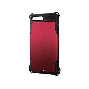 エレコム iPhone 8 Plus/ZEROSHOCK/スタンダード/レッド PM-A17LZERORD メーカー在庫品[メール便対象商品]|compmoto-y