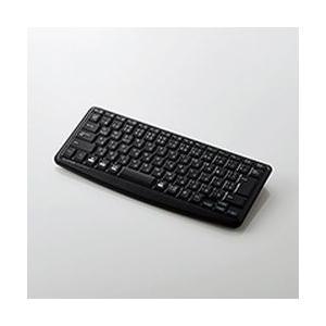 エレコム Bluetoothミニキーボードメンブレン式静音設計ブラック TK-FBM093SBK メーカー在庫品|compmoto-y