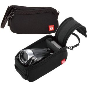エレコム デジタルビデオカメラケース/インナー/Mサイズ/ブラック DVB-018BK メーカー在庫品|compmoto-y