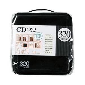 エレコム CD/DVDケース/セミハード/ファスナー付/320枚入/ブラック メーカー在庫品|compmoto-y