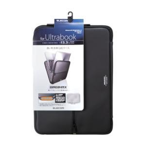 エレコム Ultrabook用 インナーケース ZEROSHOCK/ブラック ZSB-IBUB02BK メーカー在庫品|compmoto-y