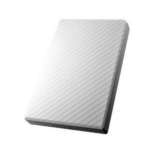 アイ・オー・データ機器 USB3.0/2.0ポータブルHDD高速カクうすセラミックホワイト1TB 目...