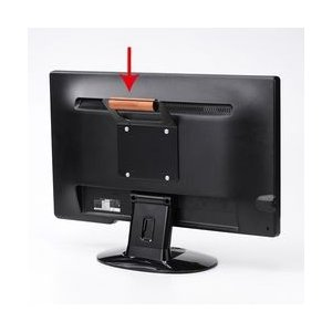 サンワサプライ VESAマウント取付けテレビハンドル MR-VESA5N メーカー在庫品|compmoto-y