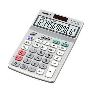 カシオ計算機(CASIO) カシオ 電卓 12桁 ジャストタイプ グリーン購入法適合 JF-120GT-N 目安在庫=○