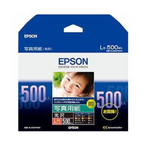 EPSON (エプソン) KL500PSKR 写真用紙<光沢> (L版/500枚) 目安在庫=○|compmoto-y