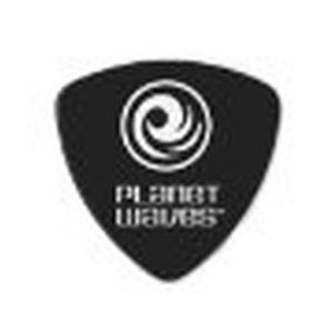 Planet Waves Classic Celluloid Picks-Wide Shape-【Medium 0.7mm】 Black 100枚セット 仕入先在庫品|compmoto