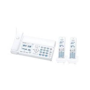 パナソニック パーソナルファックス(子機2台付き)ホワイト KX-PD515DW-W 目安在庫=△|compmoto