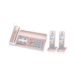 パナソニック パーソナルファックス(子機2台付き)ピンクゴールド KX-PD515DW-N 目安在庫=△|compmoto