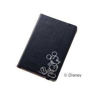 レイ・アウト iPad mini 4 ディズニーホットスタンプブックレザーケース/ミッキー 目安在庫=○ compmoto