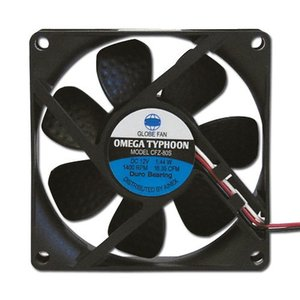 AINEX アイネックス CFZ-80SA OMEGA TYPHOON 80mm 超静音タイプ 1400rpm±200/18.35CFM/11.7dB(A)  お取り寄せ|compro