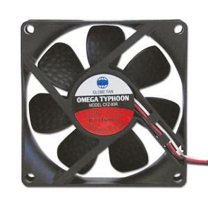 AINEX アイネックス CFZ-80RA OMEGA TYPHOON 80mm 高速タイプ 2800rpm±10%/41.15CFM/29.9dB(A) お取り寄せ|compro