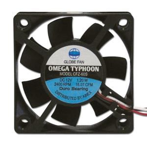 AINEX アイネックス CFZ-60SA OMEGA TYPHOON 60mm 超静音タイプ 2400rpm±10%/16.07CFM/12.8dB(A) お取り寄せ|compro