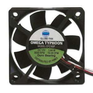 AINEX アイネックス CFZ-60FA OMEGA TYPHOON 60mm 標準タイプ 3000rpm±10%/19.08CFM/18.9dB(A)  お取り寄せ|compro