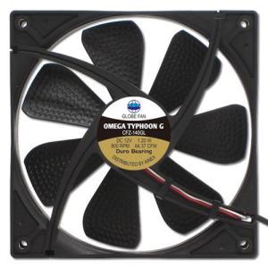 AINEX アイネックス CFZ-140GLA OMEGA TYPHOON G 140mm 究極静音タイプ 800rpm±200/64.37CFM/11.0dB(A) お取り寄せ|compro