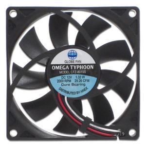 AINEX アイネックス CFZ-8015SA OMEGA TYPHOON 80mm 薄型超静音タイプ 2000rpm±10%/25.26CFM/20.4dB(A) お取り寄せ|compro