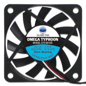 AINEX アイネックス CFZ-6010SA OMEGA TYPHOON 60mm 薄型超静音タイプ 3500rpm±10%/16.14CFM/24.7dB(A) お取り寄せ|compro