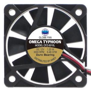 AINEX アイネックス CFZ-5010LA OMEGA TYPHOON 50mm 薄型究極静音タイプ 3000rpm±10%/6.48CFM/13.83dB(A) お取り寄せ|compro