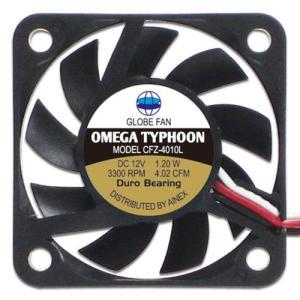 AINEX アイネックス CFZ-4010LA OMEGA TYPHOON 40mm 薄型究極静音タイプ 3300rpm±10%/4.02CFM/10.3dB(A) お取り寄せ|compro