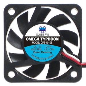 AINEX アイネックス CFZ-4010SA OMEGA TYPHOON 40mm 薄型超静音タイプ 4000rpm±10%/4.81CFM/12.3dB(A) お取り寄せ|compro