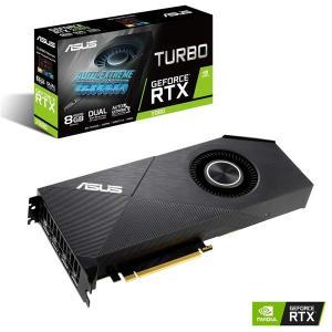グラフィックボード ASUS エイスース TURBO-RTX2080-8G-EVO PCIExp 8GB NVIDIA GeForce RTX 2080 PCIe 3.0 HDMIx1 DisplayPortx3 GDDR6 8GB 8月2日出荷予定|compro