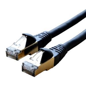 ミヨシ CAT.7LANケーブル TPE 黒 0.5m TWN-75BK お取り寄せ