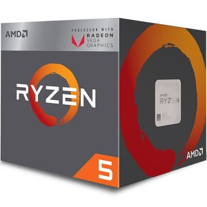 Ryzen 5 2400G BOX CPU AMD エーエムディー 3.6GHz Socket AM4 二次キャッシュ 2MB compro