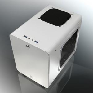 PCケース 自作PC用  PCケース RAIJINTEK METIS PLUS METIS PLUS 0R200061 ホワイト 対応ファクター Mini-ITX 3.5インチシャドウベイ 2個 ※お取り寄せ|compro