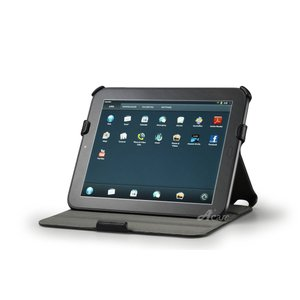 おまかせ便送料無料Acase Slim PU レザーケース for HP Touch Pad レザー ケース カバー スタンド機能・角度調整機能付)メール便不可 comwap