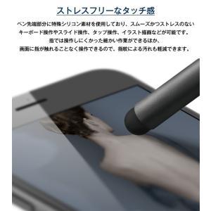 タッチペン スマホ タブレット スタイラスペン アルミ 替え ペン先 付 スマホ用 タブレット用 タッチペン iPhone iPad スマートフォン 細い elago STYLUS SLIM|comwap|05