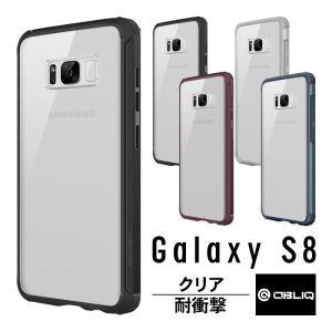 Samsung Galaxy S8 対応の、OBLIQ 製 PC×TPU ハイブリッドケース   ◆...