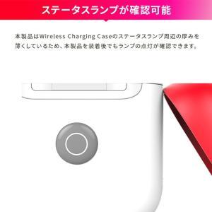 AirPods2 ケース 耐衝撃 シリコン カバー 傷防止 アクセサリー AirPods 2 Wireless Charging Case 第2世代 MRXJ2J/A MR8U2J/A エアーポッズ2 SwitchEasy Colors|comwap|05