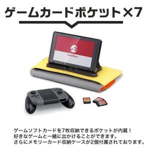 Nintendo Switch ケース 充電しながら遊べる JOY-CON グリップ モバイルバッテリー 収納 バンド USB-C ケーブル 付 ニンテンドースイッチ SwitchEasy PowerPACK|comwap|05
