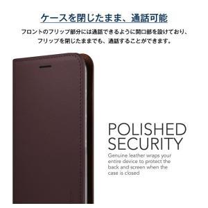 Galaxy S8 Plus ケース 手帳型 本革 ハンドメイド 高級 レザー ベルトなし マグネット なし 薄型 スリム 手帳 カバー ギャラクシーS8プラス VRS Genuine Leather|comwap|05